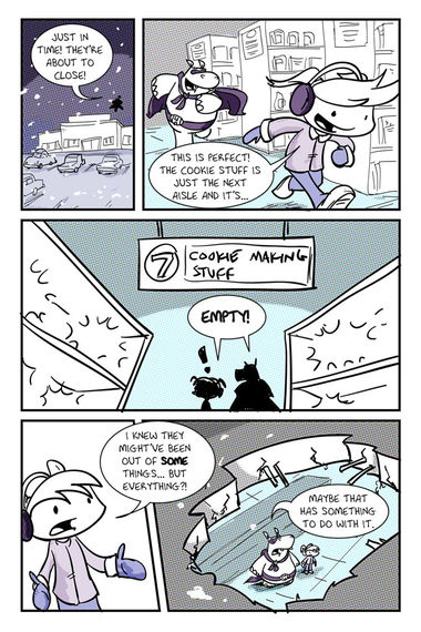 Snowman Trouble
